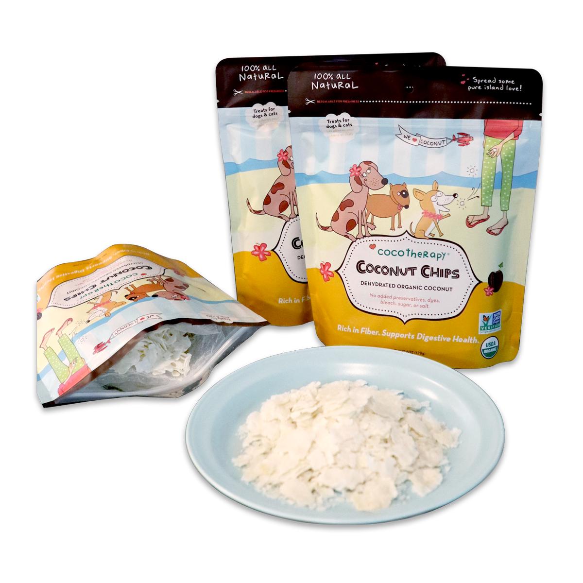 [강아지 코코넛 간식] 코코테라피 코코넛 칩